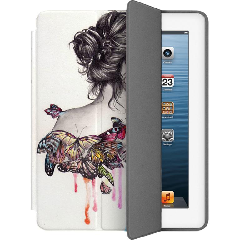 Чехол Muse Smart Case для iPad 2/3/4 БабочкиЧехлы для iPad 1/2/3/4 (2010-2013)<br>Чехлы Muse — это индивидуальность, насыщенность красок, ультрасовременные принты и надёжность.<br><br>Цвет товара: Белый<br>Материал: Поликарбонат, полиуретановая кожа