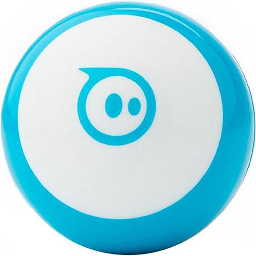 Роботизированный шар Sphero Mini синийРоботы<br>Sphero Mini — роботизированный шар, с которым вы никогда не устанете играть!<br><br>Цвет: Синий<br>Материал: Поликарбонат
