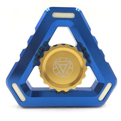 Спиннер EDC Superhero Series Железный человек SP4582Игрушки-антистресс<br>Спиннеры от EDC крутятся невероятно долго!<br><br>Цвет товара: Синий<br>Материал: Алюминий, пластик