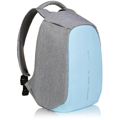 Рюкзак XD Design Bobby Compact для Macbook 13 голубои?Рюкзаки<br>Функциональный и стильный Bobby Compact обеспечит надёжную защиту вашим вещам.<br><br>Цвет товара: Голубой<br>Материал: Текстиль, полипропилен, полиэстер