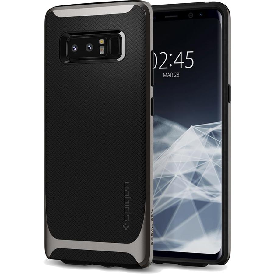 Чехол Spigen Neo Hybrid для Samsung Galaxy Note 8 стальной (587CS22084)Чехлы для Samsung Galaxy Note<br>Испытайте непревзойденную защиту нового чехла Neo Hybrid от Spigen для Samsung Galaxy Note 8.<br><br>Цвет товара: Серый<br>Материал: Поликарбонат, полиуретан