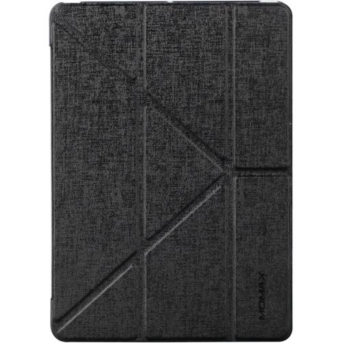 Чехол Momax Flip Cover для iPad (2017) чёрныйЧехлы для iPad (2017)<br>Чехол Momax Flip Cover — отличная пара для вашего iPad (2017).<br><br>Цвет товара: Чёрный<br>Материал: Эко-кожа, пластик