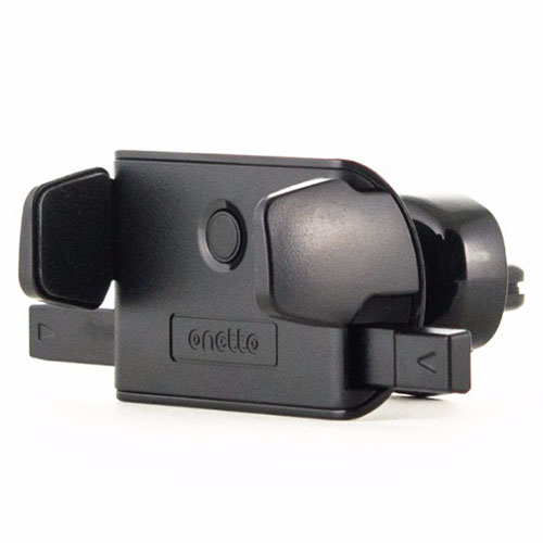Автомобильный держатель Onetto One Touch Mini Air Vent Mount чёрныйАвтодержатели<br>One Touch Mini Air Vent Mount экономит пространство в салоне вашего автомобиля и не «бросается» в глаза при обзоре.<br><br>Цвет товара: Чёрный<br>Материал: Металл