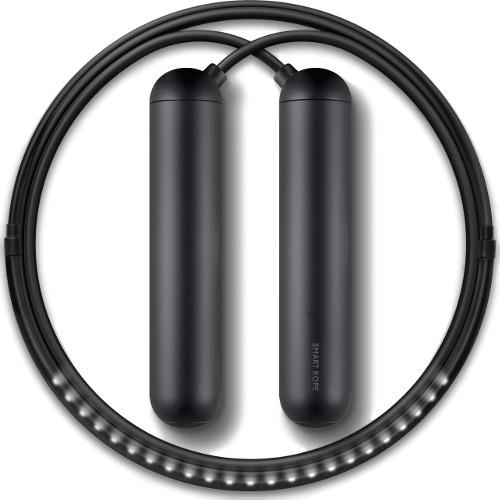 Умная скакалка Smart Rope (размер M)Аксессуары для тренировок и фитнеса<br>Умная скакалка Smart Rope размер M черная<br><br>Цвет товара: Чёрный<br>Материал: Металл, пластик<br>Модификация: M