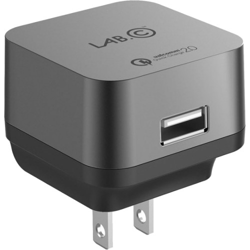 Сетевое зарядное устройство LAB.C X1 1-USB 2.4A сероеСетевые зарядки<br>Сетевое з/у LAB.C X1 1-USB port 2.4A - серое<br><br>Цвет товара: Серый<br>Материал: Пластик, металл