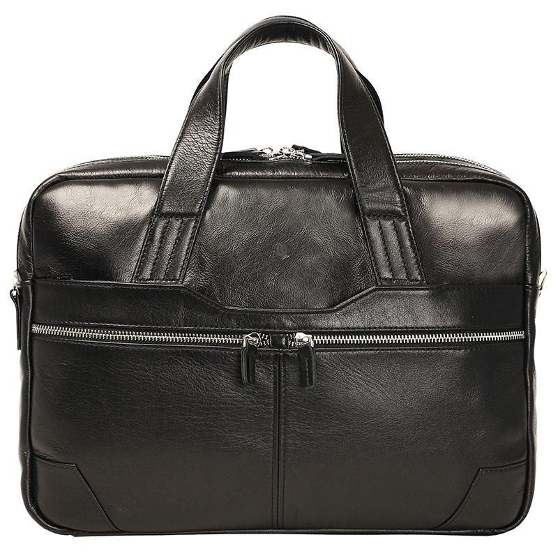 Сумка Ray Button Edinburgh для MacBook 15 чёрная (320C1)Сумки для ноутбуков<br>Ray Button Edinburgh понравиться всем ценителям классического стиля!<br><br>Цвет товара: Чёрный<br>Материал: Натуральная кожа КРС, металлическая молния YKK