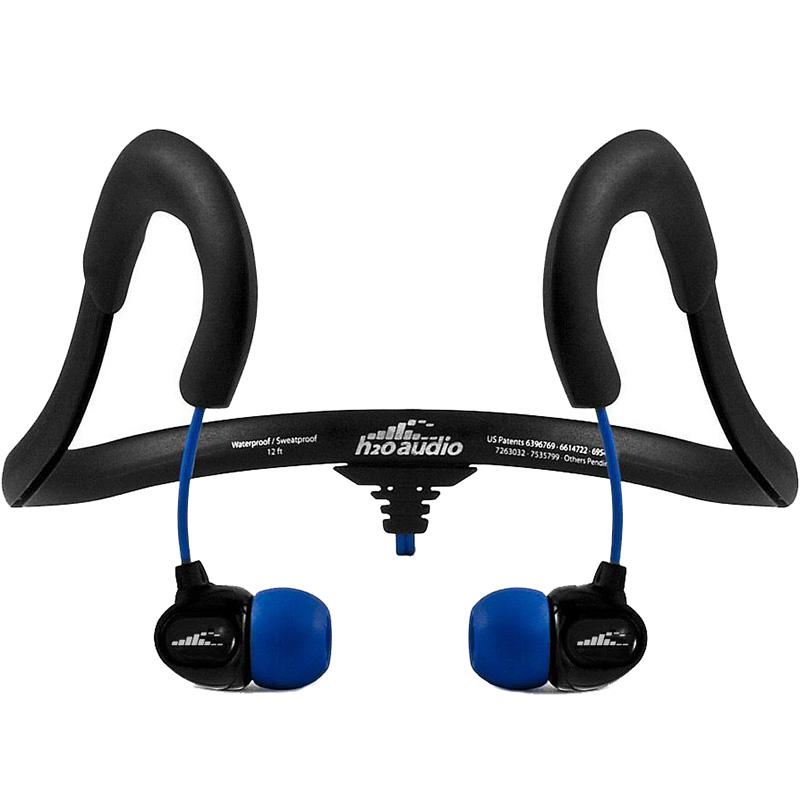 Наушники H2O Audio X-1 Sportwrap Waterproof Sport Headphones (IEN2-BK-X)Внутриканальные наушники<br>Вы ни за что не потеряете эти наушники, каким бы динамичным видом спорта вы не занимались!<br><br>Цвет: Чёрный<br>Материал: Пластик, силикон