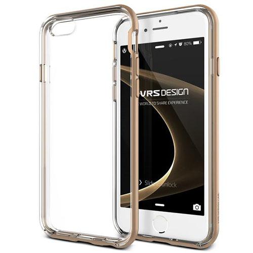 Чехол Verus New Crystal Bumper для iPhone 6S/6 (904488)Чехлы для iPhone 6/6s<br>Чехол Verus New Crystal Bumper для iPhone 6S/6 золотистый (904488)<br><br>Цвет товара: Золотой<br>Материал: Пластик, резина