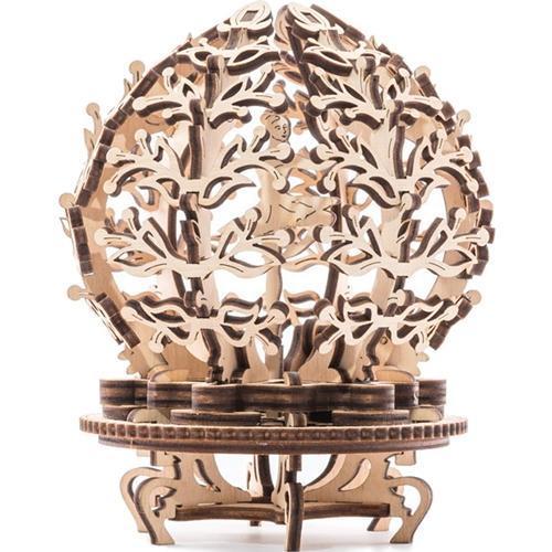 3D-пазл UGears Механический цветок (Mechanical Flower-etui)3D пазлы и конструкторы<br>3D-пазл UGears Цветок<br><br>Цвет товара: Бежевый<br>Материал: фанера (ФК)