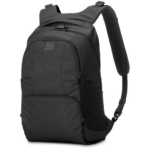 Рюкзак Pacsafe Metrosafe LS450 чёрныйРюкзаки<br>Компактные, но вместительные, рюкзаки Pacsafe полюбились пользователям за уникальную систему защиты от самых различных неприятностей, которы...<br><br>Цвет товара: Чёрный<br>Материал: Текстиль, нержавеющая сталь, пластик