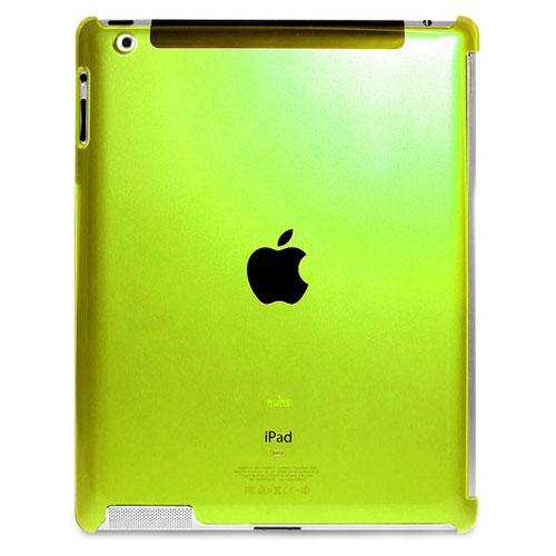 Чехол Puro Crystal Cover Fluoresce для iPad 2 / iPad 3 зелёныйЧехлы для iPad 1/2/3/4<br>Puro Crystal Cover Fluoresce - это яркий флуорисцентный чехол для iPad 2 / iPad 3.<br><br>Цвет товара: Зелёный<br>Материал: Пластик