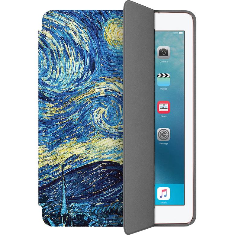 Чехол Muse Smart Case для iPad Pro (10.5) Ван ГогЧехлы для iPad Pro 10.5<br>Чехлы Muse Smart Case — это индивидуальность, насыщенность красок, оригинальные принты и надёжная защита от повреждений.<br><br>Цвет: Синий<br>Материал: Поликарбонат, полиуретановая кожа