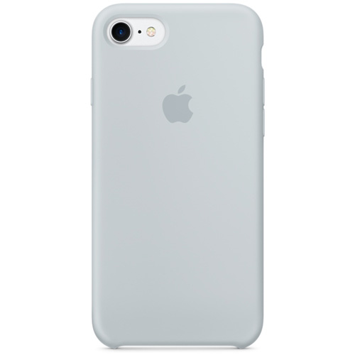 Силиконовый чехол Apple Silicone Case для iPhone 7 (Mist Blue) дымчато-голубойЧехлы для iPhone 7<br>Лёгкий и практичный чехол Apple Silicone Case — идеальная пара вашему iPhone 7.<br><br>Цвет товара: Голубой<br>Материал: Силикон