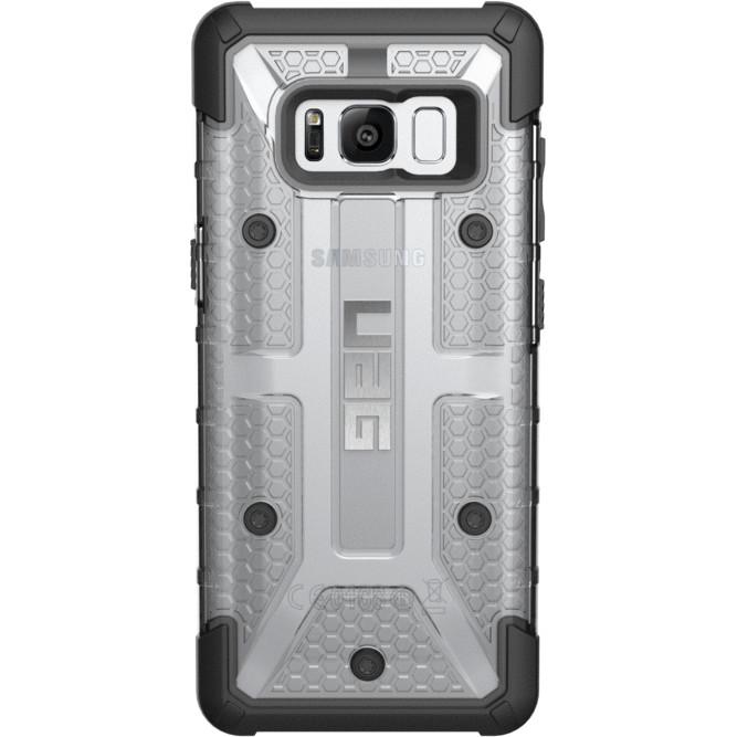 Купить со скидкой Чехол UAG Plasma Series Case для Samsung Galaxy S8 прозрачный Ice