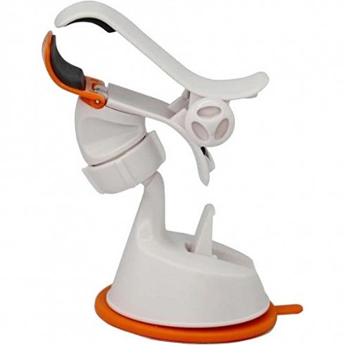 Автомобильный держатель Silicone Sucker VCS-0001 оранжевыйАвтодержатели<br>Silicone Sucker VCS-0001 — это легкий, прочный и комфортный держатель для ваших смартфонов.<br><br>Цвет товара: Оранжевый<br>Материал: Пластик, силикон