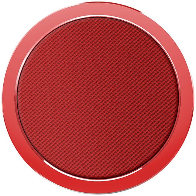 Беспроводное зарядное устройство Rock W4 Quick Wireless Charger (DT-518Q) красноеСетевые зарядки<br>С Rock W4  вы сможете зарядить смартфон невероятно быстро!<br><br>Цвет товара: Красный<br>Материал: Алюминий, пластик
