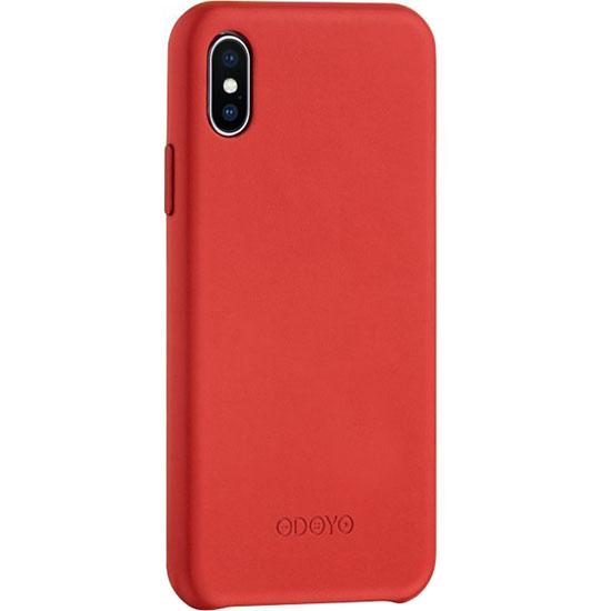 Чехол Odoyo Snap Edge для iPhone X (Burgundy Red) красныйЧехлы для iPhone X<br>Odoyo Snap Edge защитит смартфон от негативных воздействий, и подчеркнёт ваш утончённый вкус.<br><br>Цвет: Красный<br>Материал: Пластик, заменитель кожи