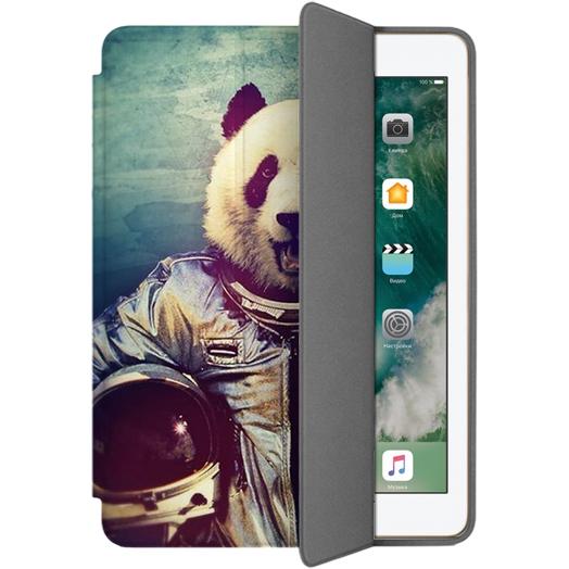 Чехол Muse Smart Case для iPad 9.7 (2017) Панда КосмонавтЧехлы для iPad 9.7 (2017)<br>Чехлы Muse — это индивидуальность, насыщенность красок, ультрасовременные принты и надёжность.<br><br>Цвет: Разноцветный<br>Материал: Поликарбонат, полиуретановая кожа