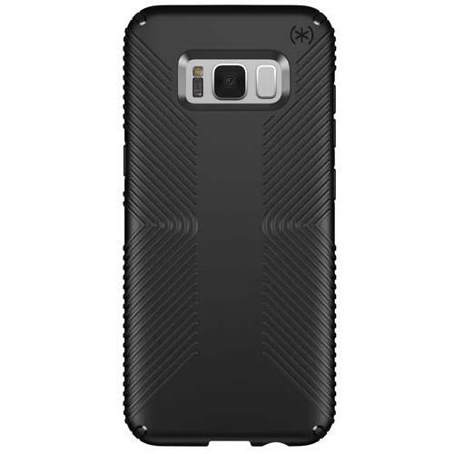 Чехол Speck Presidio Grip для Samsung Galaxy S8 чёрныйЧехлы для Samsung Galaxy S8/S8 Plus<br>Speck Presidio Grip - невероятно прочный чехол для вашего Samsung Galaxy S8, который обеспечит высококлассную защиту вашему смартфону.<br><br>Цвет товара: Чёрный<br>Материал: Поликарбонат, резина