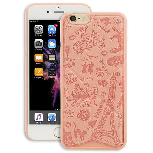 Чехол Ozaki O!coat 0.3 Travel Versatile для iPhone 6/6s ПарижЧехлы для iPhone 6/6s<br>Несомненный хит Ozaki — минималистичный и уникальный чехол O!coat 0.3 Travel Versatile!<br><br>Цвет товара: Розовый