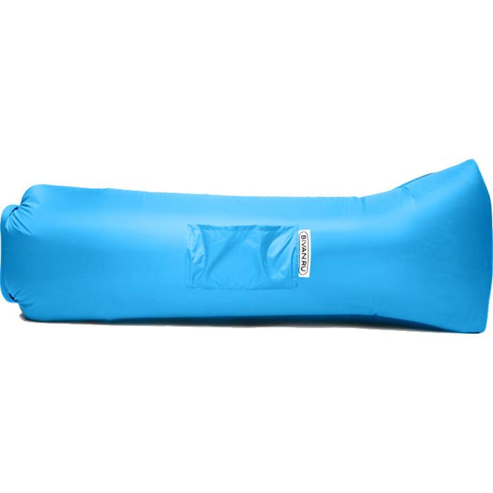 Надувной диван Биван 2.0 голубойКемпинговая мебель<br>Биван 2.0 — новая версия легендарного надувного дивана!<br><br>Цвет товара: Голубой<br>Материал: Ткань с водоотталкивающей пропиткой, парашютный шёлк
