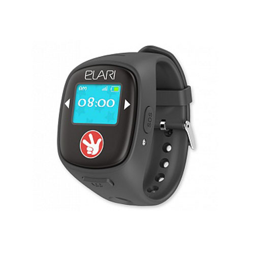 Детские часы-телефон Fixitime 2 Elari Black c GPS/LBS/WiFi-трекером чёрные (Фикситайм)Умные часы<br>С Fixitime 2 Ваш ребёнок всегда на связи!<br><br>Цвет товара: Чёрный<br>Материал: Пластик, резина