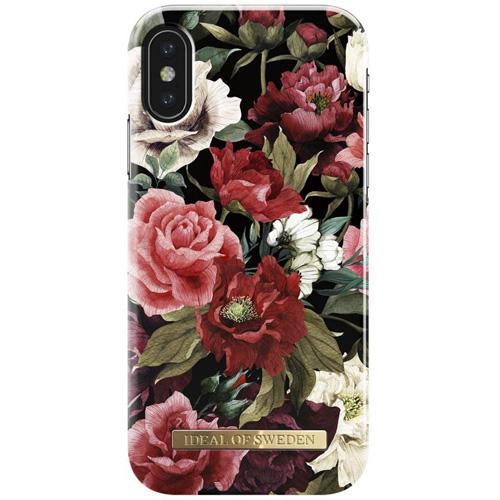 Чехол iDeal of Sweden Fashion Case для iPhone X (Antique Roses)Чехлы для iPhone X<br>Чехол iDeal of Sweden Fashion Case станет истинным украшением самого лучшего смартфона!<br><br>Цвет товара: Разноцветный<br>Материал: Пластик, замша