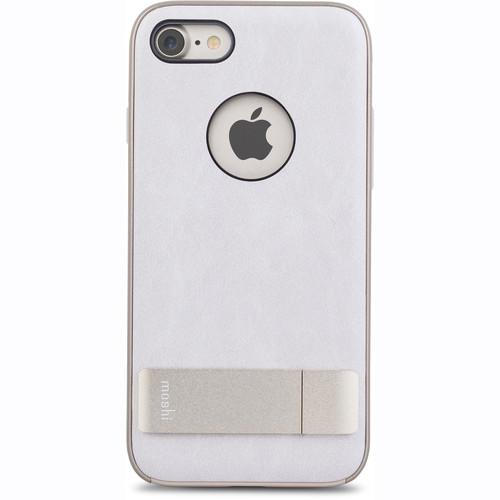 Чехол Moshi Kameleon Kickstand Case для iPhone 7 (Айфон 7) светло-розовый/золотистыйЧехлы для iPhone 7<br>Moshi Kameleon Kickstand Case - элегантная защита для iPhone 7!<br><br>Цвет товара: Белый<br>Материал: Поликарбонат, искусственная кожа, алюминий