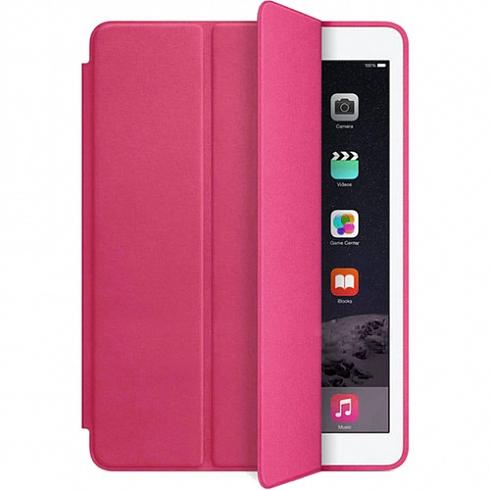 Чехол YablukCase для iPad Pro 9,7 малиновыйЧехлы для iPad Pro 9.7<br>Чехлы YablukCase приятно дополнят имидж вашего мощного планшета.<br><br>Цвет товара: Розовый<br>Материал: Эко-кожа, пластик