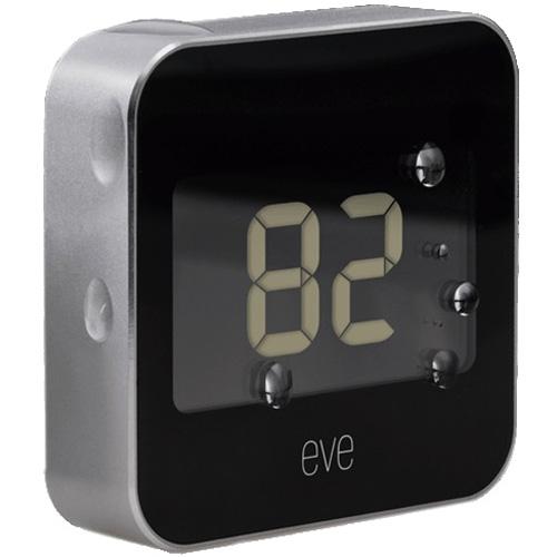 Внутренняя метеостанция Elgato Eve DegreeКлиматическая техника для дома<br>Изготовленная из алюминия, компактная Eve Degree отслеживает температуру и влажность с непревзойденной точностью.<br><br>Цвет товара: Чёрный<br>Материал: Алюминий