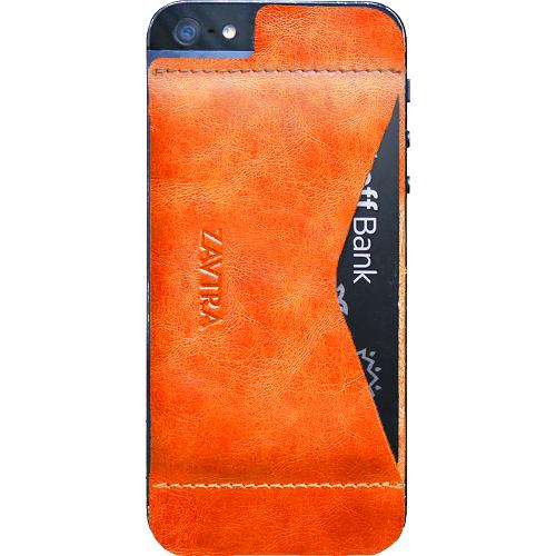 Чехол-кошелёк ZAVTRA для iPhone 5/5s/SE оранжевыйЧехлы для iPhone 5s/SE<br>Чехол-кошелёк ZAVTRA для iPhone 5/5s/SE оранжевый<br><br>Цвет товара: Оранжевый<br>Материал: Натуральная кожа, пластик