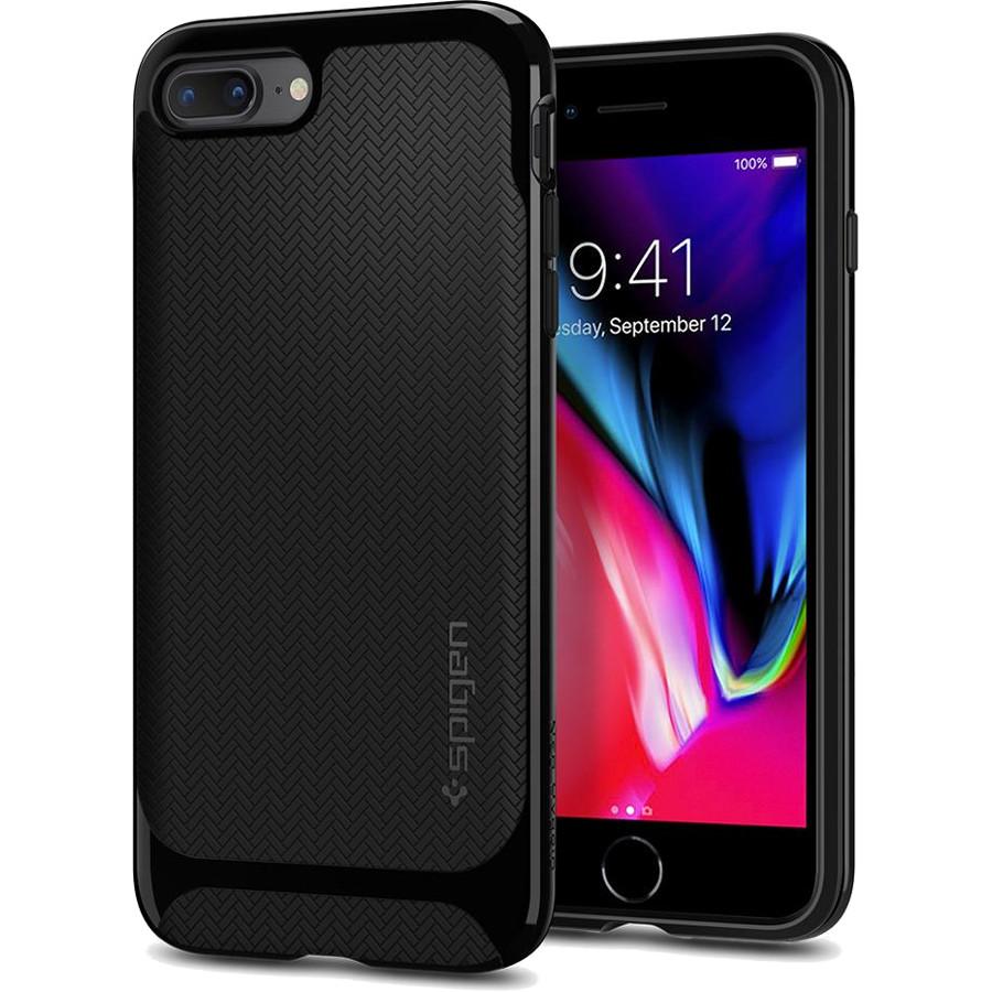 Чехол Spigen Neo Hybrid Herringbone для iPhone 8 Plus / 7 Plus чёрный (055CS22230)Чехлы для iPhone 7 Plus<br>Spigen Neo Hybrid Herringbone — стильный и прочный чехол для мощного смартфона Apple iPhone 8 Plus.<br><br>Цвет: Чёрный<br>Материал: Поликарбонат, термопластичный полиуретан