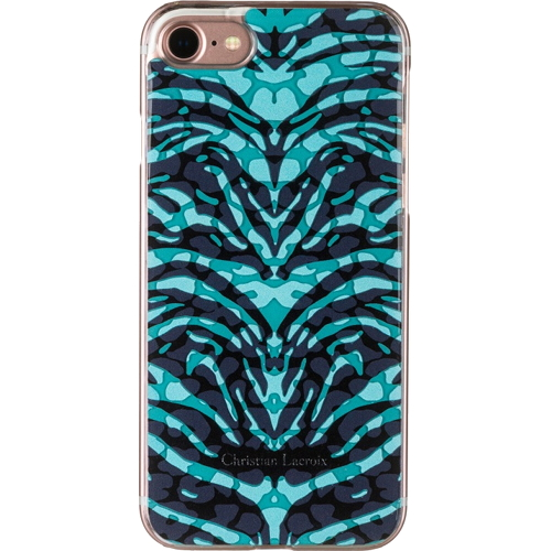 Чехол Christian Lacroix Pantigre Hard для iPhone 7 (Айфон 7) Turquoise бирюзовый