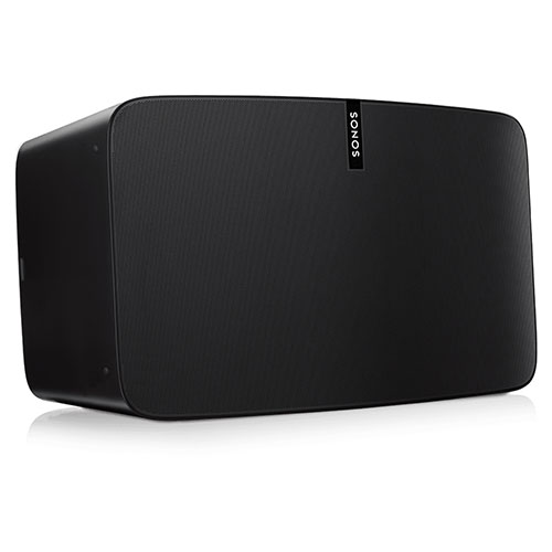 Акустическая система Sonos Play:5 чёрнаяКолонки и акустика<br>Акустическая система Sonos PLAY:5 Black<br><br>Цвет товара: Чёрный<br>Материал: Пластик, металл