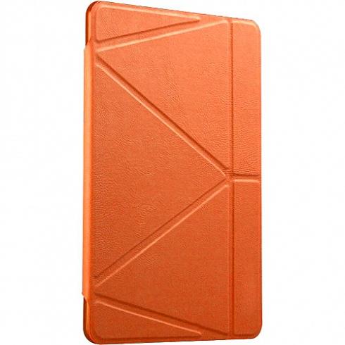 Чехол Gurdini Flip Cover для iPad mini 4 оранжевыйЧехлы для iPad mini 4<br>Чехол Gurdini для iPad mini 4 Оранжевый<br><br>Цвет: Оранжевый<br>Материал: Искусственная кожа, пластик