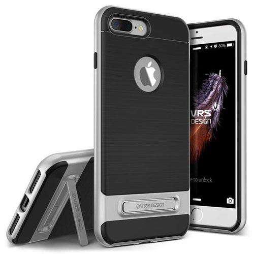 Чехол Verus High Pro Shield для iPhone 7 Plus (Айфон 7 Плюс) серебристый (VRIP7P-HPSSS)Чехлы для iPhone 7 Plus<br>Чехол Verus для iPhone 7 Plus High Pro Shield, серебристый (904637)<br><br>Цвет товара: Серебристый<br>Материал: Полкикарбонат, полиуретан
