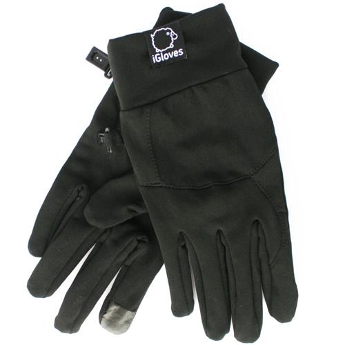 Перчатки спортивные iGloves для iPhone/iPod/iPad/etc чёрные (Размер S-M)Перчатки для экрана<br>Перчатки iGloves  — отличный подарок на Новый Год!<br><br>Цвет товара: Чёрный<br>Материал: 50% - нейлон, 50% - акрил<br>Модификация: M