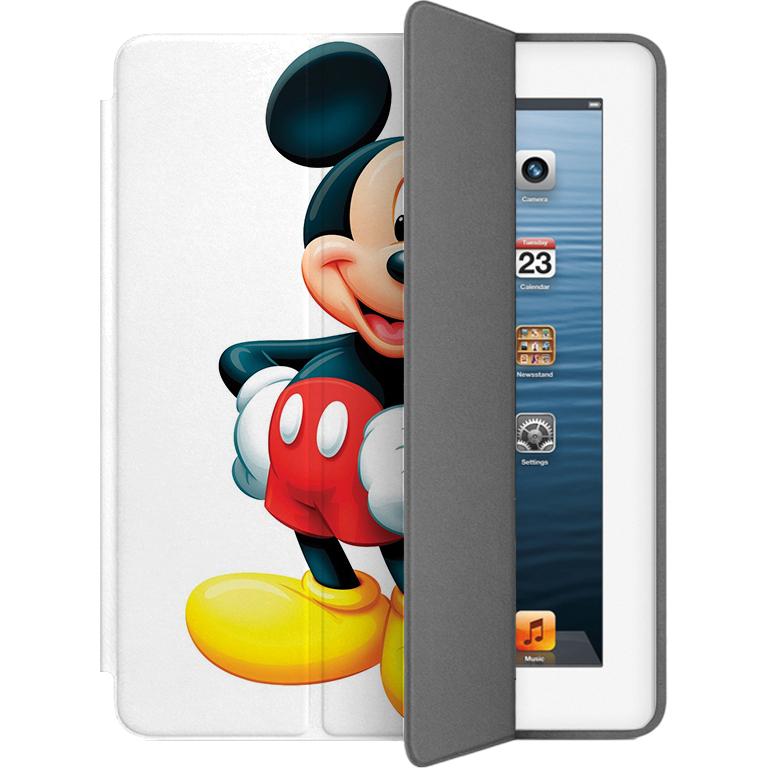 Чехол Muse Smart Case для iPad 2/3/4 Микки МаусЧехлы для iPad 1/2/3/4<br>Чехлы Muse — это индивидуальность, насыщенность красок, ультрасовременные принты и надёжность.<br><br>Цвет: Белый<br>Материал: Поликарбонат, полиуретановая кожа