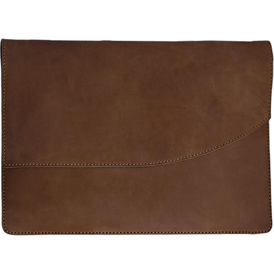"""Купить со скидкой Кожаный чехол An'1 Leather Cover для MacBook Pro 15"""" Touch Bar (USB-C) Капучино"""