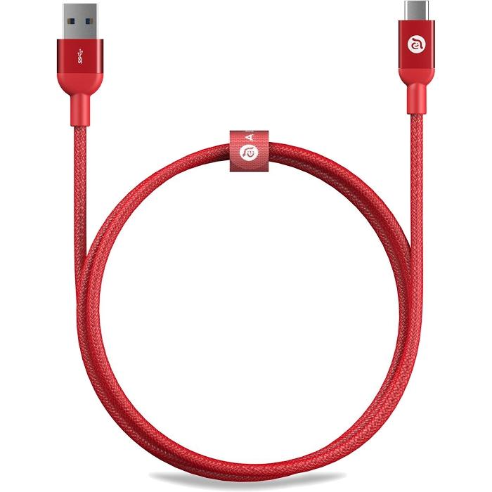 Кабель ADAM elements CASA M100 USB Type-C to USB (1 метр) красныйКабели Type-C и другие<br>Многослойное экранирование кабеля ADAM elements CASA M100 способствует минимизации искажений, электромагнитных или радиочастотных помех.<br><br>Цвет товара: Красный<br>Материал: Алюминий, пластик, нейлон