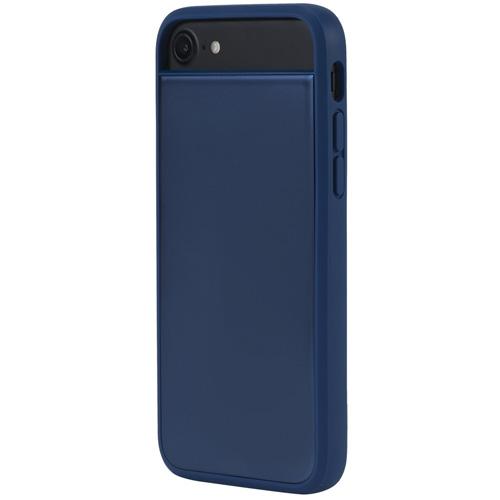 Чехол Incase Level Case для iPhone 7/ iPhone 8 синийЧехлы для iPhone 7<br>Чехол Incase Level case для iPhone 7 - синий<br><br>Цвет товара: Синий<br>Материал: Полиуретан, металл
