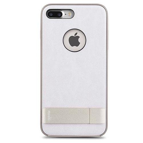 Чехол Moshi Kameleon Kickstand Case для iPhone 7 Plus (Айфон 7 Плюс) белый/золотистыйЧехлы для iPhone 7 Plus<br>Moshi Kameleon Kickstand Case - элегантная защита для iPhone 7 Plus!<br><br>Цвет товара: Белый<br>Материал: Поликарбонат, искусственная кожа, алюминий