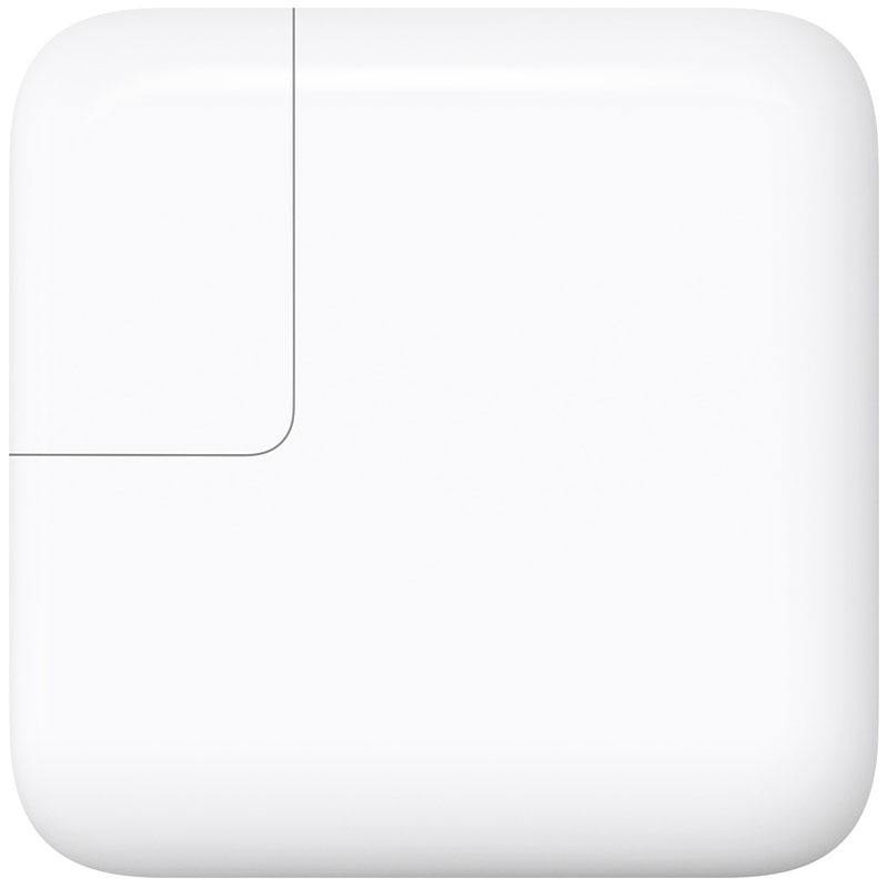 Зарядное устройство Apple 29W USB-C Power Adapter (MJ262Z/A)Сетевые зарядки<br>Apple 29W USB-C Power Adapter — зарядное устройство высочайшего качества!<br><br>Цвет товара: Белый<br>Материал: Пластик, металл
