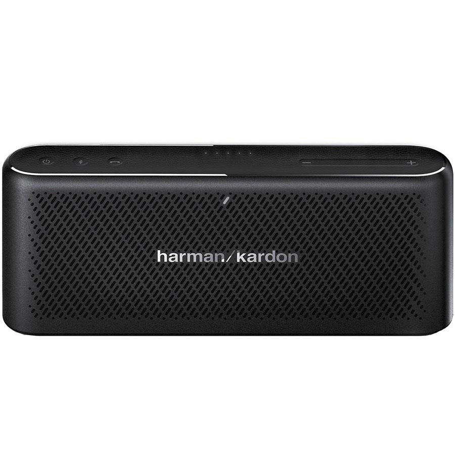 Портативная колонка Harman Kardon Traveler чёрнаяКолонки и акустика<br>Traveler — компактная, стильная и очень мощная портативная колонка!<br><br>Цвет товара: Чёрный<br>Материал: Алюминий, натуральная кожа