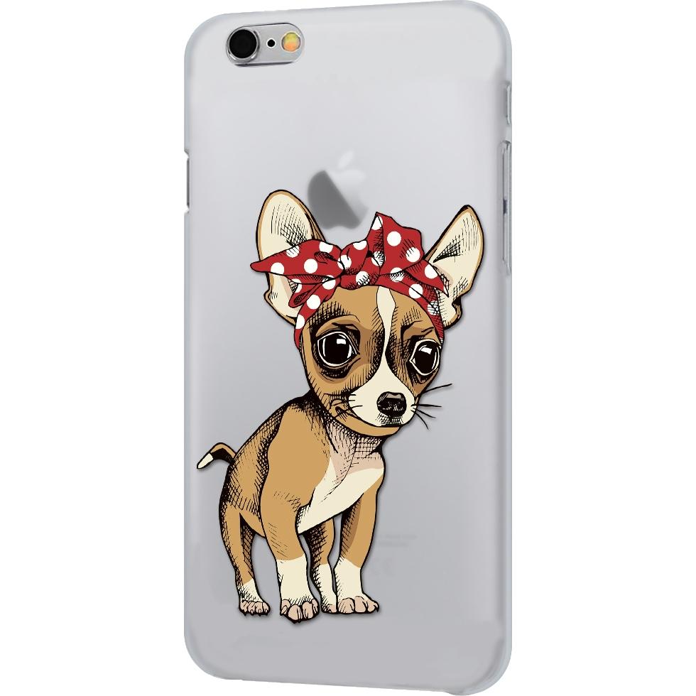 Чехол iPapai для iPhone 7 «Питомцы» (Чихуахуа)