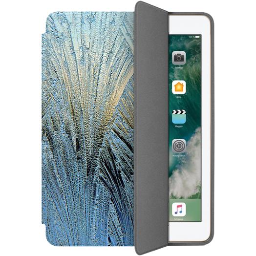 Чехол Muse Smart Case для iPad 9.7 (2017) Синие камышиЧехлы для iPad 9.7 (2017)<br>Чехлы Muse — это индивидуальность, насыщенность красок, ультрасовременные принты и надёжность.<br><br>Цвет товара: Синий<br>Материал: Поликарбонат, полиуретановая кожа
