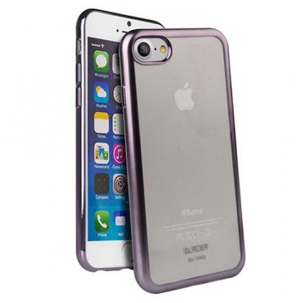 Чехол Uniq Glacier Frost для iPhone 7 (Айфон 7) стальнойЧехлы для iPhone 7<br>Чехол Uniq Glacier Frost для iPhone 7 (Айфон 7) стальной<br><br>Цвет товара: Фиолетовый<br>Материал: Поликарбонат, полиуретан