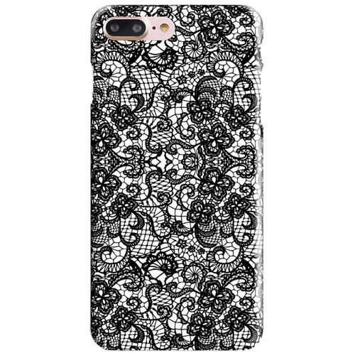 Чехол iPapai для iPhone 7 Plus «Кружева» (Чёрные)Чехлы для iPhone 7 Plus<br>Креативный силиконовый чехол iPapai с уникальным дизайнерским принтом для iPhone 7 Plus.<br><br>Цвет товара: Чёрный<br>Материал: Силикон