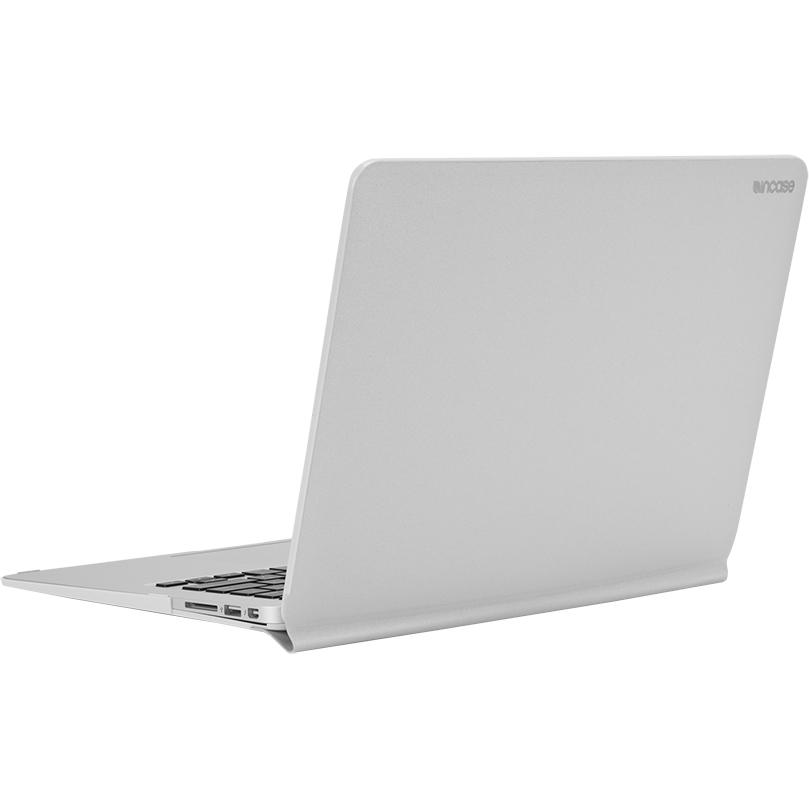 Чехол Incase Snap Jacket для MacBook Air 13 серебристый (INMB900308-SLV)MacBook<br>Incase Snap Jacket создан для тех, кто не расстаётся со своим MacBook ни на работе, ни на прогулке.<br><br>Цвет: Серебристый<br>Материал: Текстурированная искусственная кожа, пластик