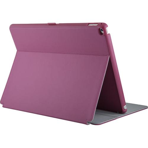 Чехол Speck StyleFolio для iPad Pro 12,9 фуксия / серыйЧехлы для iPad Pro 12.9<br>Чехол Speck StyleFolio Pencil для iPad Pro 12,9 фуксия / серый<br><br>Цвет товара: Розовый<br>Материал: Поликарбонат, полиуретановая кожа